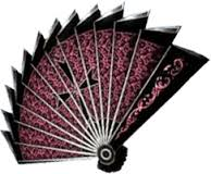 Hand fan as a weapon